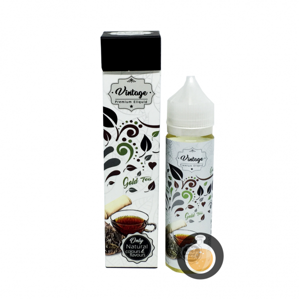 Vintage - Gold Tea - Malaysia Best Vape E Juices & E Liquids Online Store