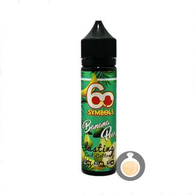 60 Symbols - Banana Pear - Malaysia Best Vape E Juices & E Liquids Store