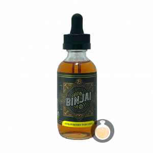 Binjai Premium - Strawberry Popcorn - Vape E Juices & E Liquids Store