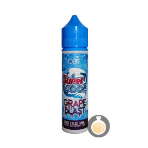 Cloudy O Funky (COF) - Super Cool Grape Blast - Vape Juice & E Liquid