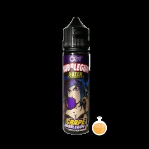 Cloudy O Funky (COF) Bubblegum Queen - Grape - Vape Juices & E Liquids