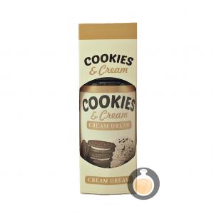 Cream Dream - Cookies & Cream - Vape E Juices & E Liquids Online Store