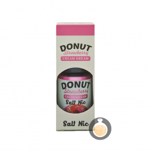 Cream Dream - Salt Donut Strawberry - Vape E Juices & E Liquids Store