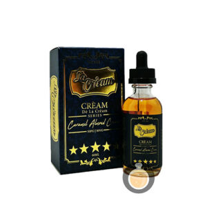 De La Cream Series - Caramel Almond Cream - E Juice & E Liquid Store
