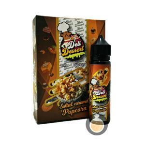 Deli Dessert - Salted Caramel Popcorn - Vape E Juices & E Liquids Store