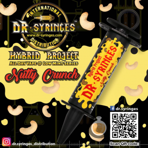 Dr Syringes - Nutty Crunch - Vape E Juices & E Liquids Online Store | Shop