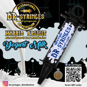 Dr Syringes - Yogurt Milk - Vape E Juices & E Liquids Online Store | Shop