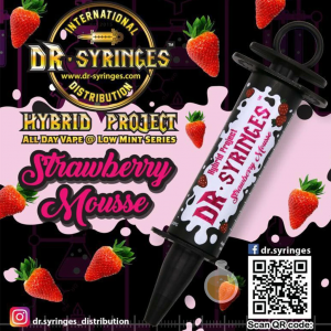 Dr Syringes - Strawberry Mousse - Malaysia Vape Juice & E Liquid Store