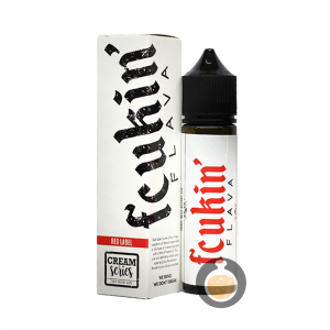 Fcukin' Flava Creamy Series - Red Label - Vape E Juices & E Liquids Store