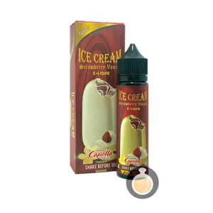 Flamingo E Lic - Ice Cream Strawberry Vanilla - Vape E Juices & E Liquids