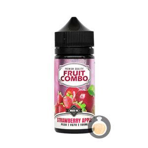 Fruit Combo - Strawberry Apple - Malaysia Vape Juice & E Liquid Store