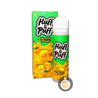 Huff & Puff - Banana Mango - Vape Juices & E Liquids Online Store   Shop