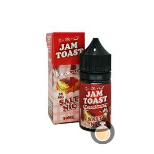Jam Toast - Strawberry Salt Nic - Vape E Juices & E Liquids Online Store