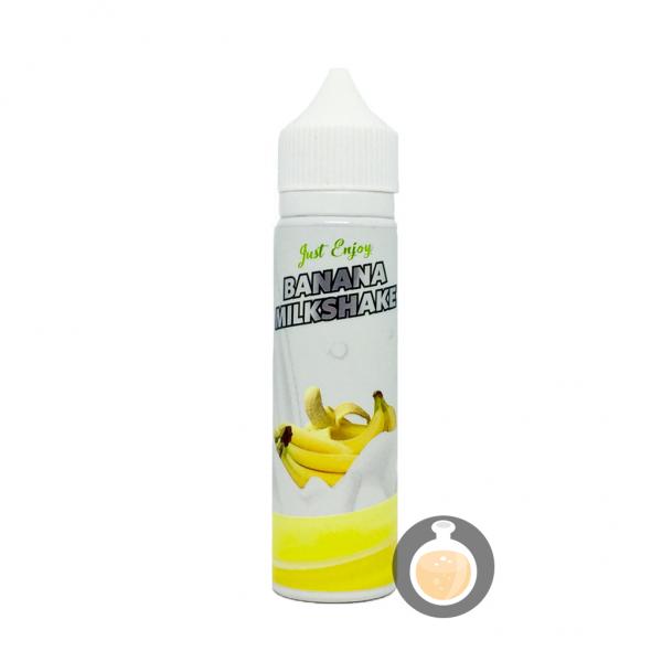 Just Enjoy - Banana Milkshake - Vape E Juices & E Liquids Online Store