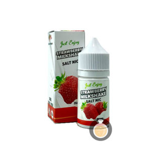 Just Enjoy - Salt Nic Strawberry Milkshake - Vape Juices & E Liquids Store