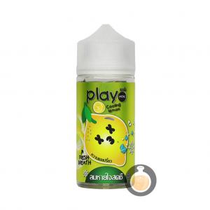Play More - Cooling Lemon - Malaysia Online Vape Juice & E Liquid Shop