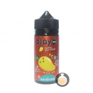 Play More - Cooling Sour Mango - Vape E Juices & E Liquids Online Store