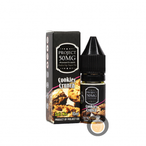 Project Ice - Cookies Crunch Salt Nic - Vape E Juice & E Liquid Store