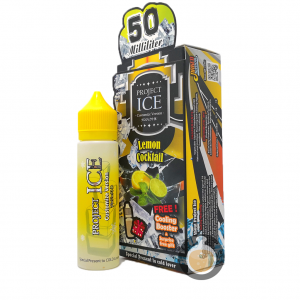 Project Ice - Lemon Cocktail - Malaysia Vape E Juice & E Liquid Store