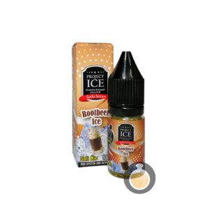 Project Ice Soda Series - Rootbeer Ice Salt Nic - Vape E Juices & E Liquids
