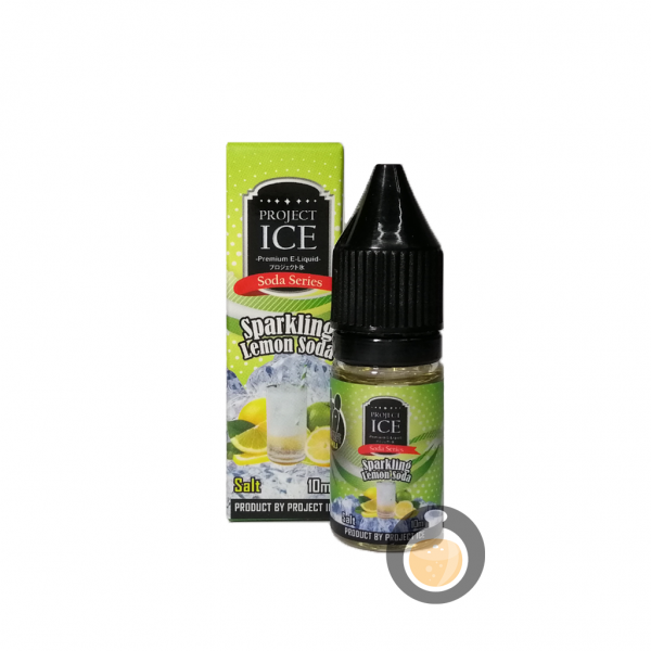 Project Ice Soda Series - Sparkling Lemon Soda Salt Nic - Vape E Juice