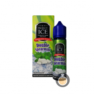 Project Ice Bubblemint Series - Double Spearmint - Vape Juice & Liquid