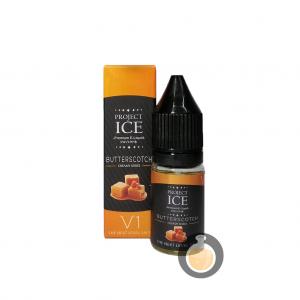 Project Ice Creamy Series - Butterscotch Salt Nic - E Juice & E Liquid