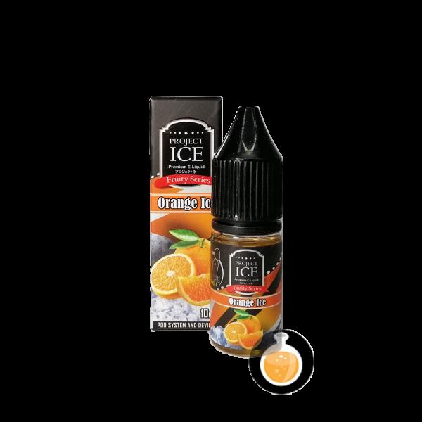 Project Ice Fruity Series - Orange Salt Nic - Vape E Juices & E Liquids Shop