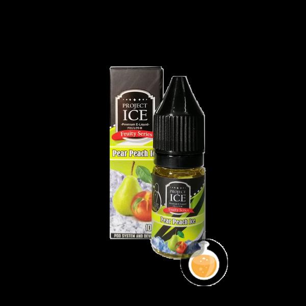 Project Ice Fruity Series - Pear Peach Ice Salt Nic - Vape E Juice & E Liquid