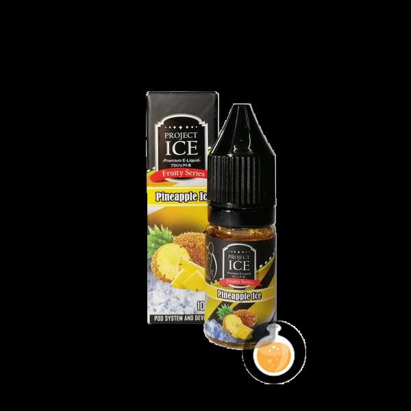 Project Ice Fruity Series - Pineapple Salt Nic - Vape Juice & E Liquid