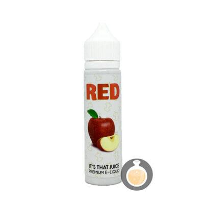 Red Apple - It's That Juice - Vape E Juices & E Liquids Online Store   Shop