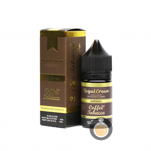 Royal Cream - Coffee Tobacco Salt Nic - Vape E Juice & E Liquid Store