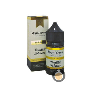 Royal Cream - Salt Vanilla Tobacco - Vape E Juices & E Liquids Online Store