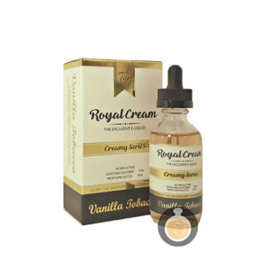 Royal Cream - Vanilla Tobacco - Vape E Juices & E Liquids Online Store