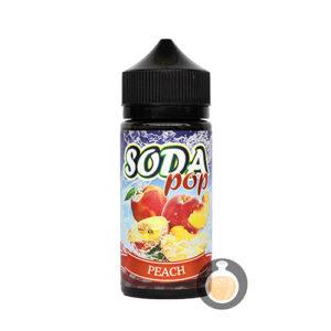 Soda Pop - Peach - Malaysia Online Cheap Vape E Juice & E Liquid Store