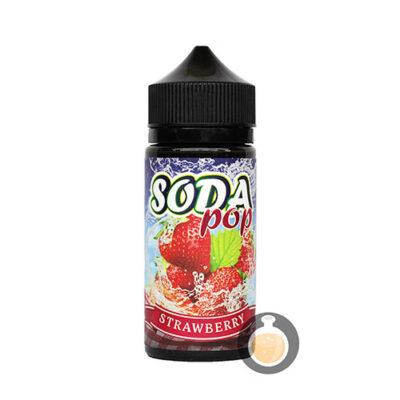 Soda Pop - Strawberry - Malaysia Online Vape E Juice & E Liquid Store