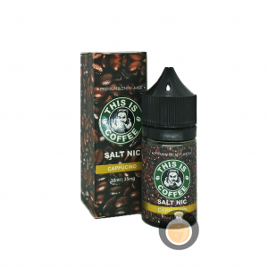 This Is Coffee - Salt Cappucino - Vape E Juices & E Liquids Online Store