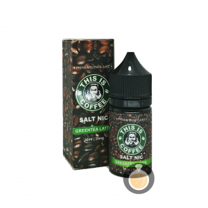 This Is Coffee - Salt GreenTea Latte - Best Vape E Juices & E Liquids Store
