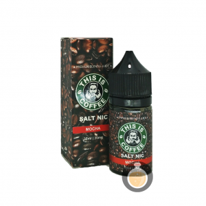 This Is Coffee - Salt Mocha - Best Vape E Juices & E Liquids Online Store