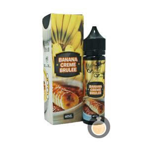 Vaptized - Banana Creme Brulee - Malaysia Vape Juice & E Liquid Store