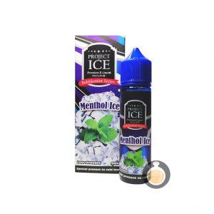 Project Ice Bubblemint Series - Menthol Ice - Vape E Juices & E Liquids
