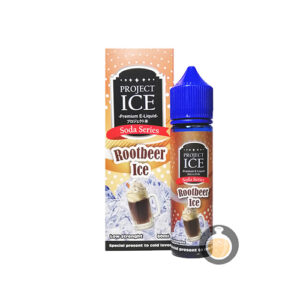 Project Ice Soda Series - Rootbeer Ice - Vape E Juices & E Liquids Store