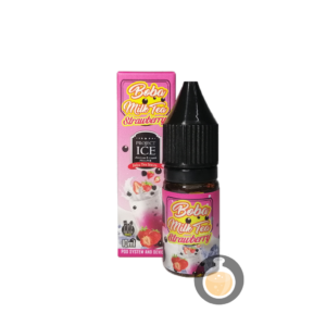 Project Ice - Boba Milk Tea Strawberry Salt Nic - Vape E Juices & E Liquids