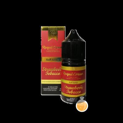 Royal Cream Salt Series - Strawberry Tobacco - Vape E Juices & E Liquids Online Store