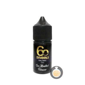 60 Symbols - Salt Nic Ice Menthol Tobacco - Vape Juice & E Liquid Store