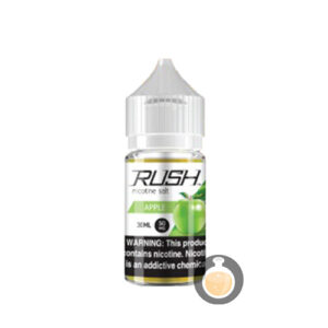 Rush - Nicotine Salt Apple - Malaysia Vape Juice & US E Liquid Online Shop