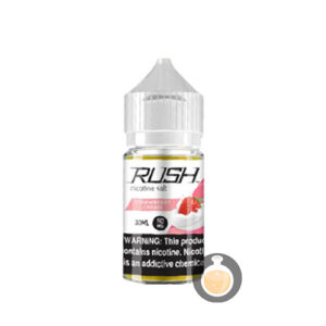 Rush - Nicotine Salt Strawberry Cream - Malaysia Vape Juice & US E Liquid