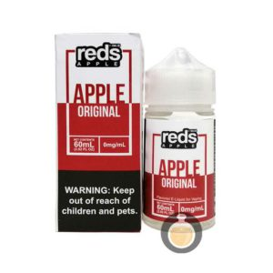 7 Daze - Reds Apple Original - Malaysia Vape Juice & US E Liquid Store