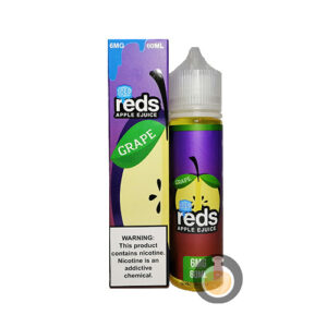 7 Daze - Reds Apple Grape Iced - Malaysia Vape Juice & US E Liquid Store