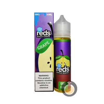 7 Daze - Reds Apple Grape Iced - Malaysia Vape Juice & US E Liquid Store